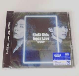 【特典付】KinKi Kids Topaz Love/ DESTINY日版初回A