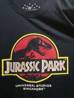 絕版 環球影城侏羅紀公園紀念tee