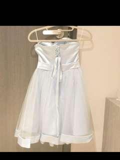 disney blue mesh skater dress cheap