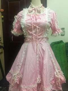 粉色蘿莉cosplay