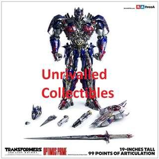 [Pre-Order] ThreeA Transformers: The Last Knight - Optimus Prime Bambaland Edition (re-issue)
