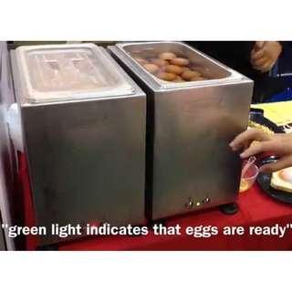 Half Boiled Egg Machine