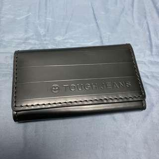 Tough leather key pouch/card holders