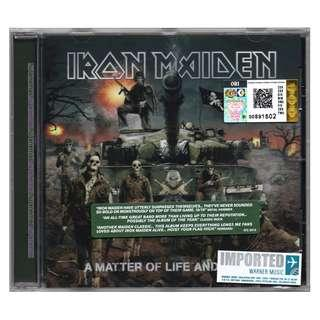 IRON MAIDEN - A Matter Of Life And Death 2006 EU EDITION CD (IMPORTED)