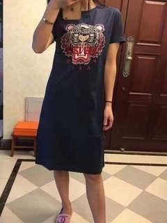 Kenzo tiger dress size L