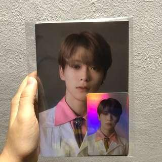 [wts] nct 127 sum official notebook with holo photocard