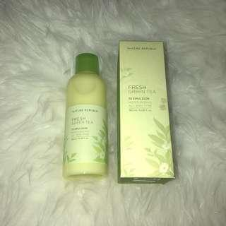 Fresh greentea emulsion