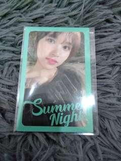 Twice Mina Summer Nights