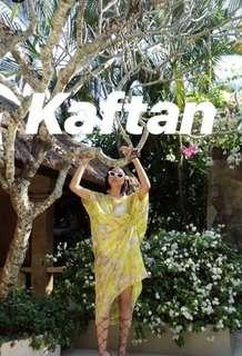 Kaftan beach wear