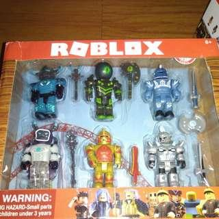 BRANDNEW 6pcs ROBLOX CHAMPION TOY SET COLLECTIBLES