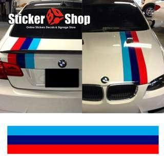 Car Graphic (BMW) - Bonnet /Boot Stripe