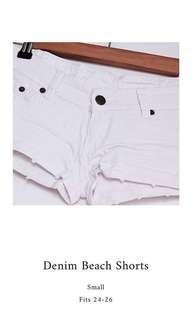 SALE!!! Denim Beach Shorts
