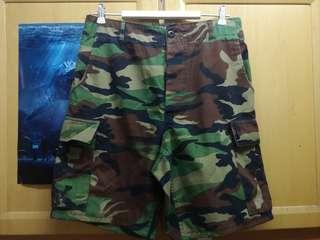 迷彩軍褲 (韓國退役改短)