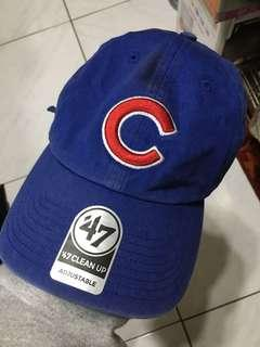 47BEAND 藍色老帽