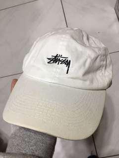 🚚 Stussy白色老帽