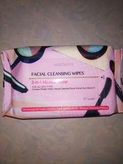 Watson Facial Cleansing Wipes (20 wipes)