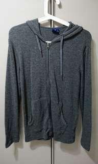 BN Nininand Outdoor Style grey zippered hoodie
