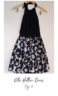 Nita Halter Dress
