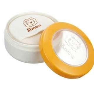 Blove 台灣 Simba 小獅王辛巴 粉撲盒 嬰兒 爽身粉盒 粉樸盒 BB粉盒 粉撲 雙層造型粉撲盒 #S2212