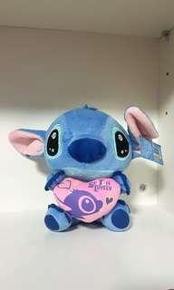 Disney Stitch Hug Pink Heart Lovely