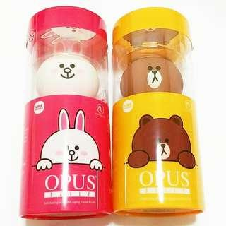 OPUS DAILY Exfoliating and Anti Aging Facial Brush 去角質及抗衰老潔面儀(Brown/Cony)