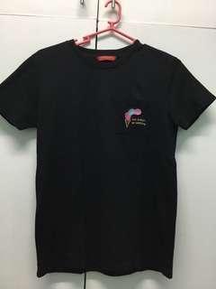 Penshoppe black pocket shirt