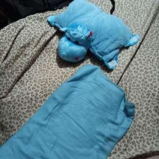 Baby Pillow and Blanket