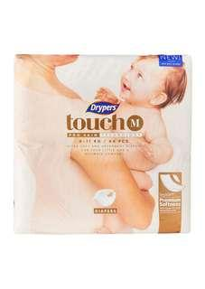 Drypers Touch M size - 64pcs