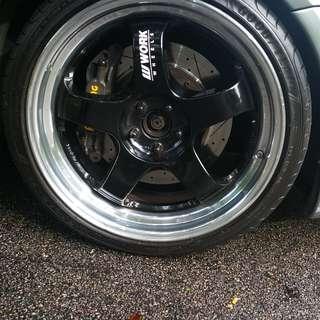 """19"""" Works S1 Meister Wheelset"""