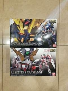 Clearances!! RG Banshee + Unicorn Bundle