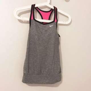 Nike Sports Tank with inbuilt sports bra