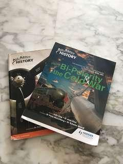 Elective history textbooks (unit 2 and 3)