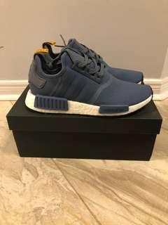 Dead stock NMD-R1 blue and yellow