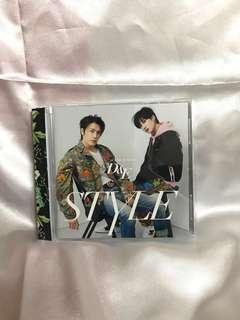 Super Junior-D&E STYLE Japan Album CD ONLY ver with photocard