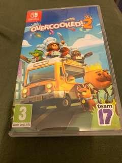 Switch Overcooked 2 二手