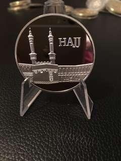 Silver plated Hajj