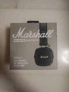 Authentic Brand New Marshall Major III Bluetooth