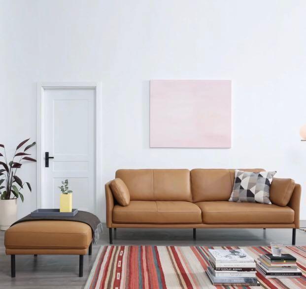 2 Color Morden Leather Sofa Furniture