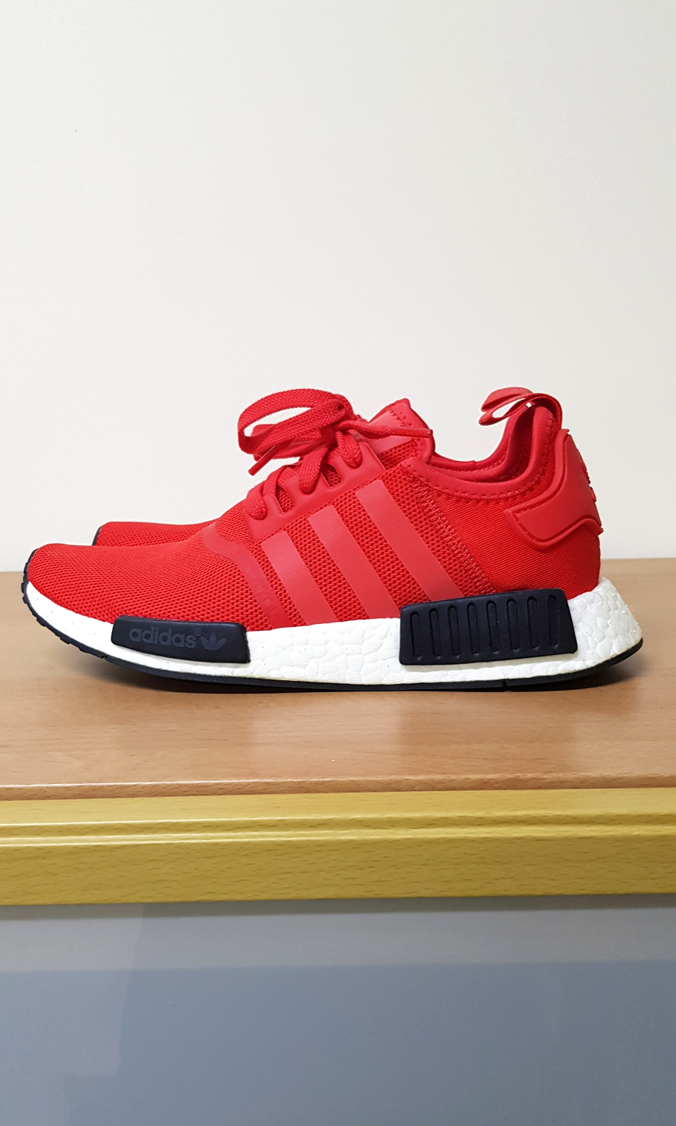 2339b2d32 Adidas NMD R1 Red Black Sneakers