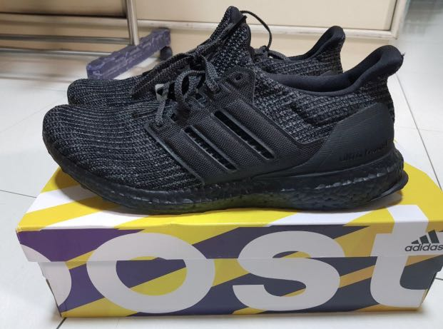3095c1c640fdf Adidas Ultra Boost 4.0 Triple Black