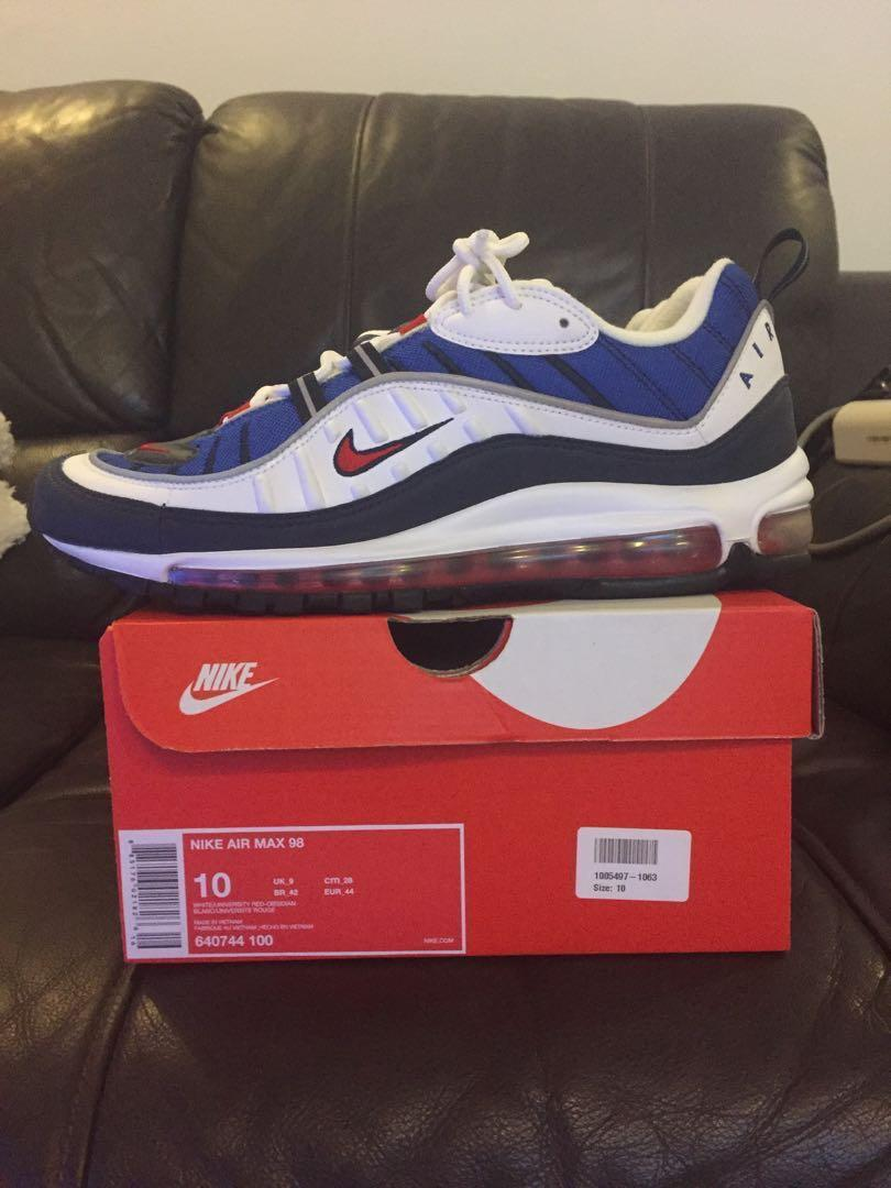 Air Max 98 Gundam Men S Fashion Footwear Sneakers On Carousell