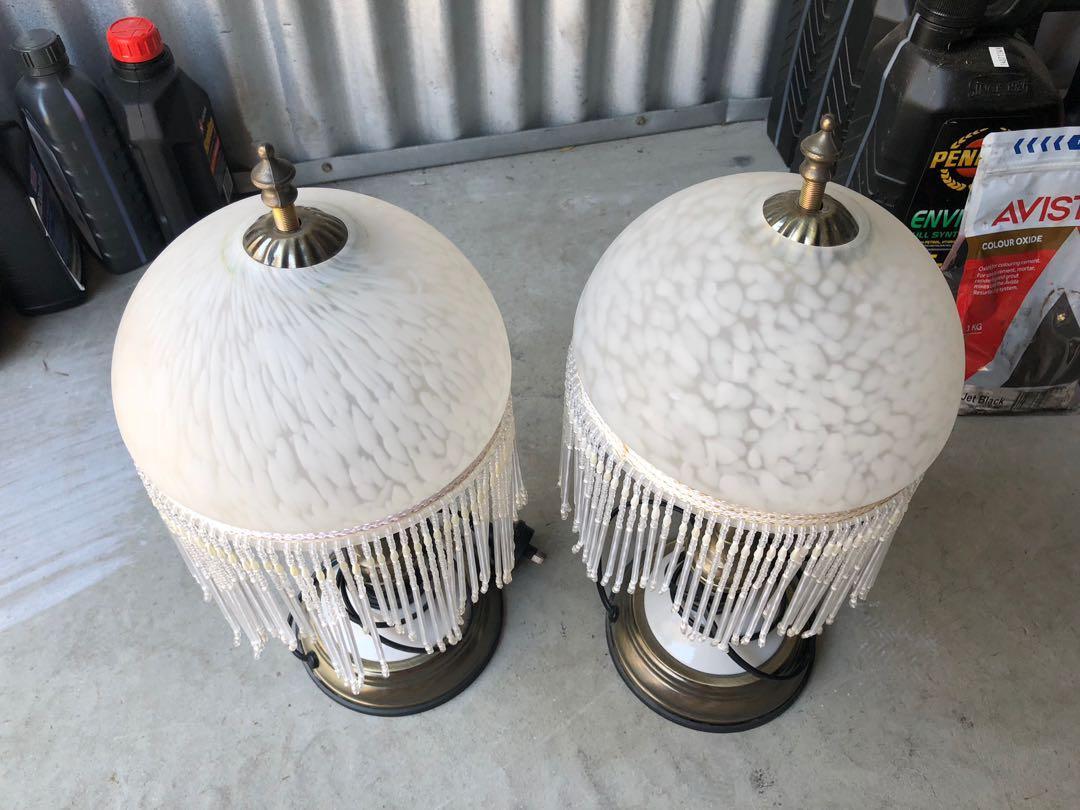 Antique Ornamental Desk Lamps