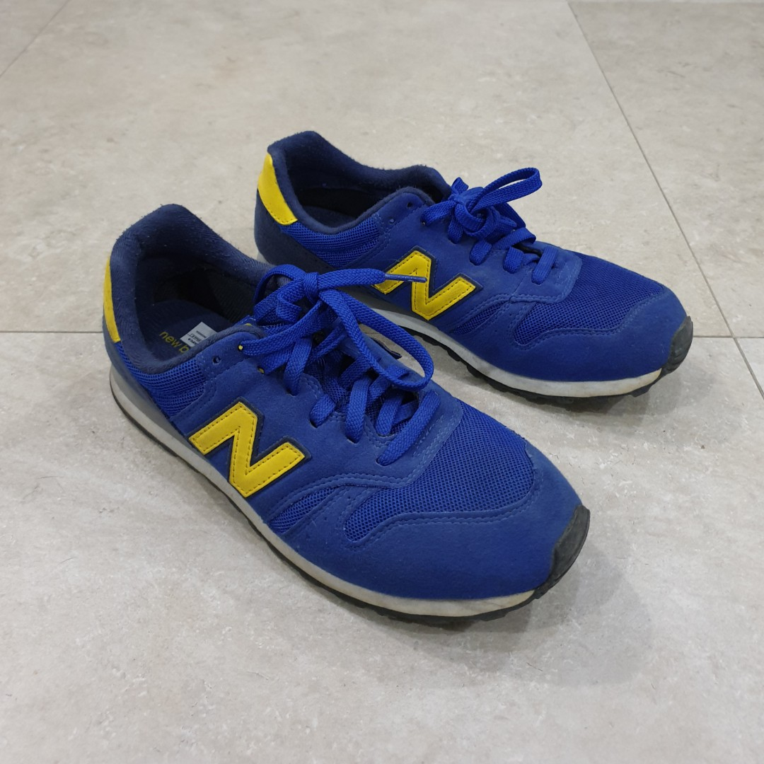 san francisco 1bf5a cd1f8 Authentic New Balance 373 Mens sneakers size US 8.5 (royal blue and yellow)