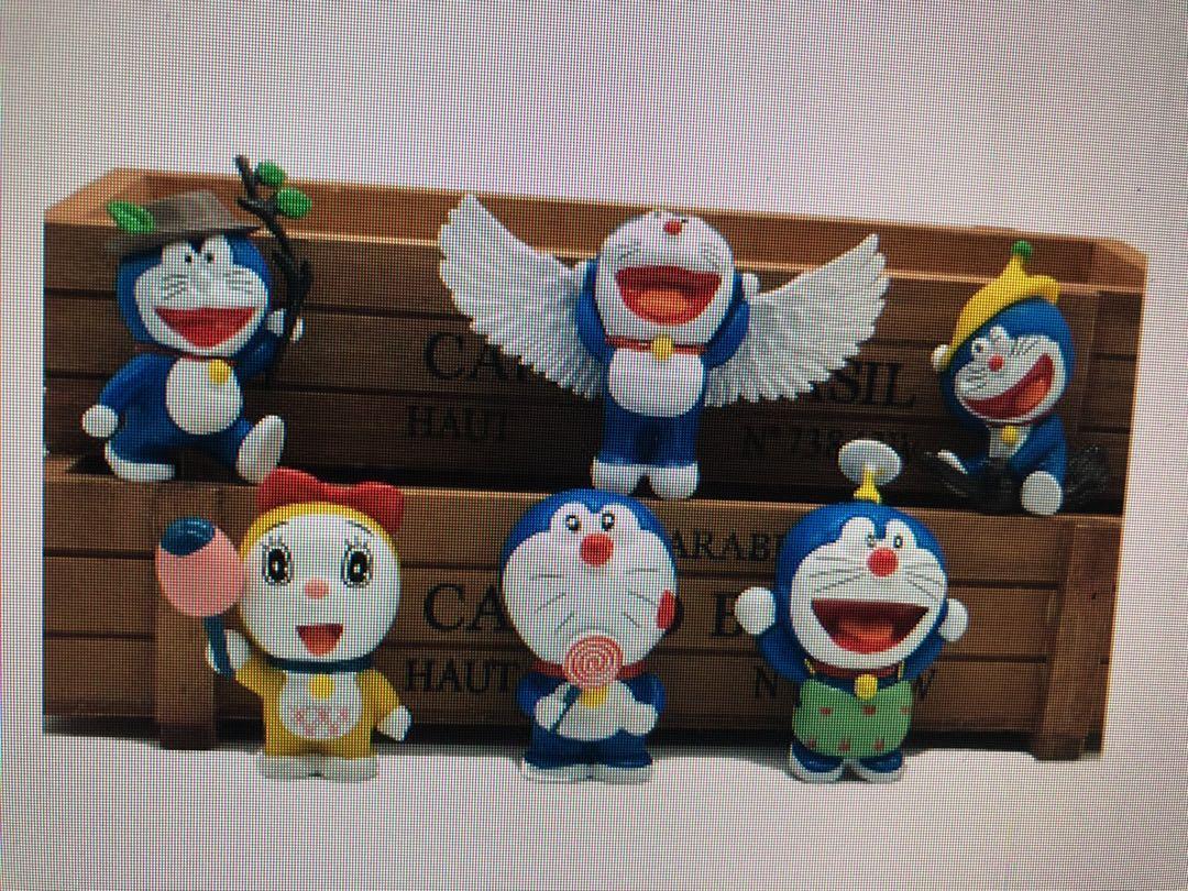 birthday party decorations 6pcs Doraemon Catoon Cute Doraemon Action Figure Model Toy Doll