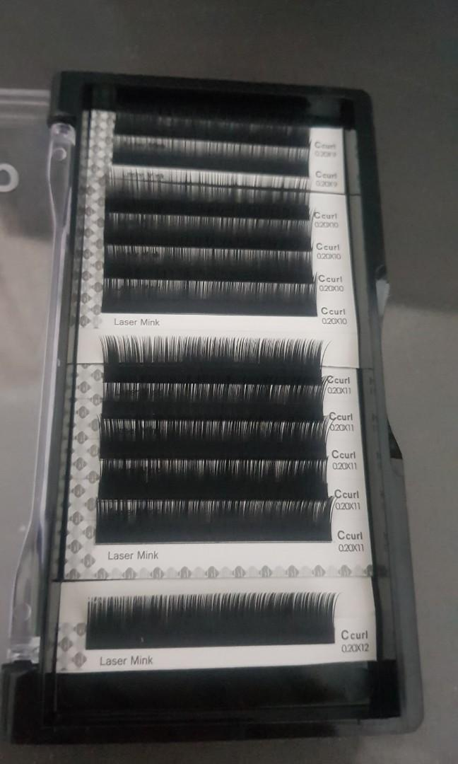 Blink Single Eyelash Extention C curl 0.20mm Mixed 9-12mm