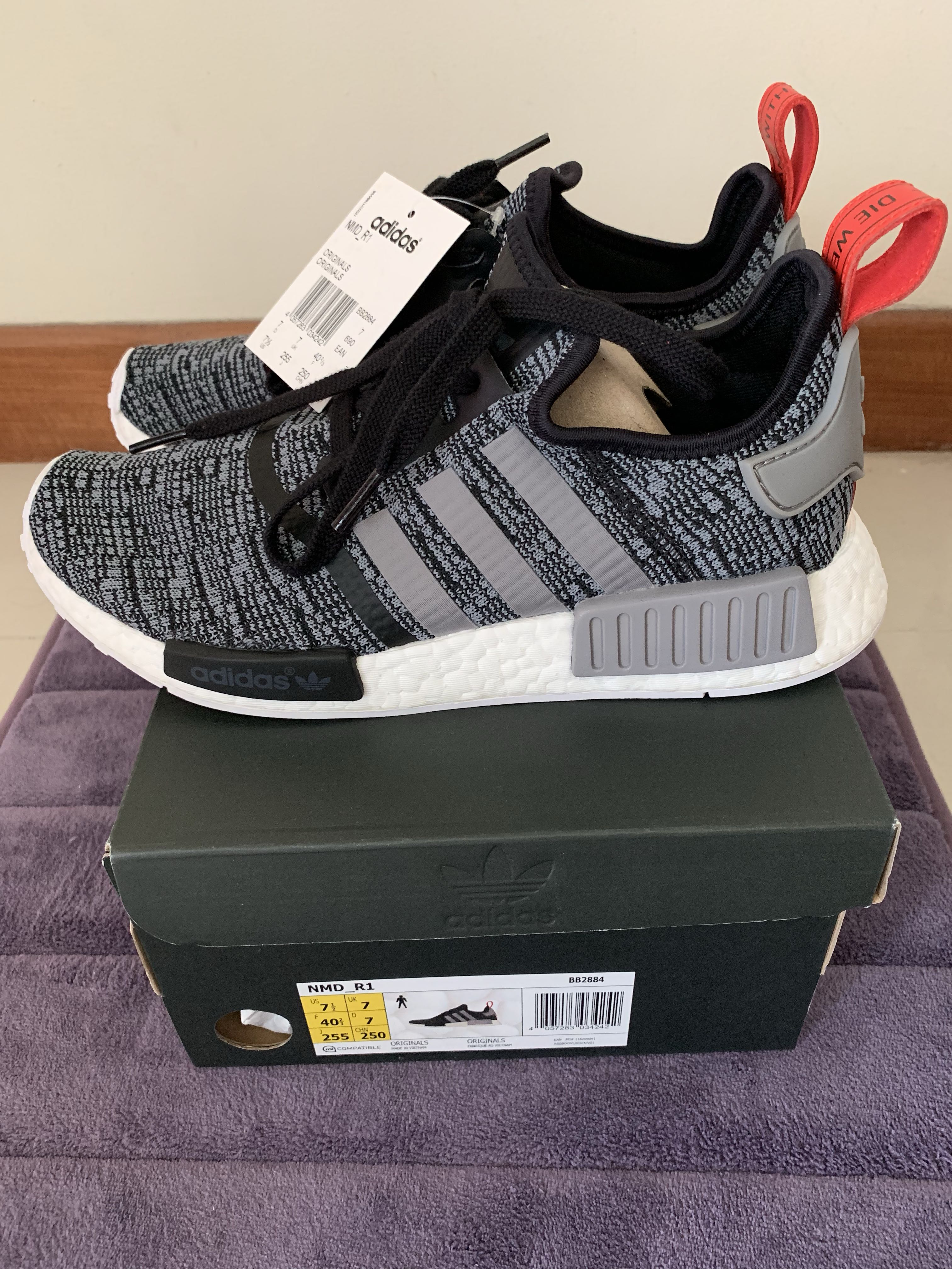 a862a45a78d70 BNIB Authentic Adidas NMD R1