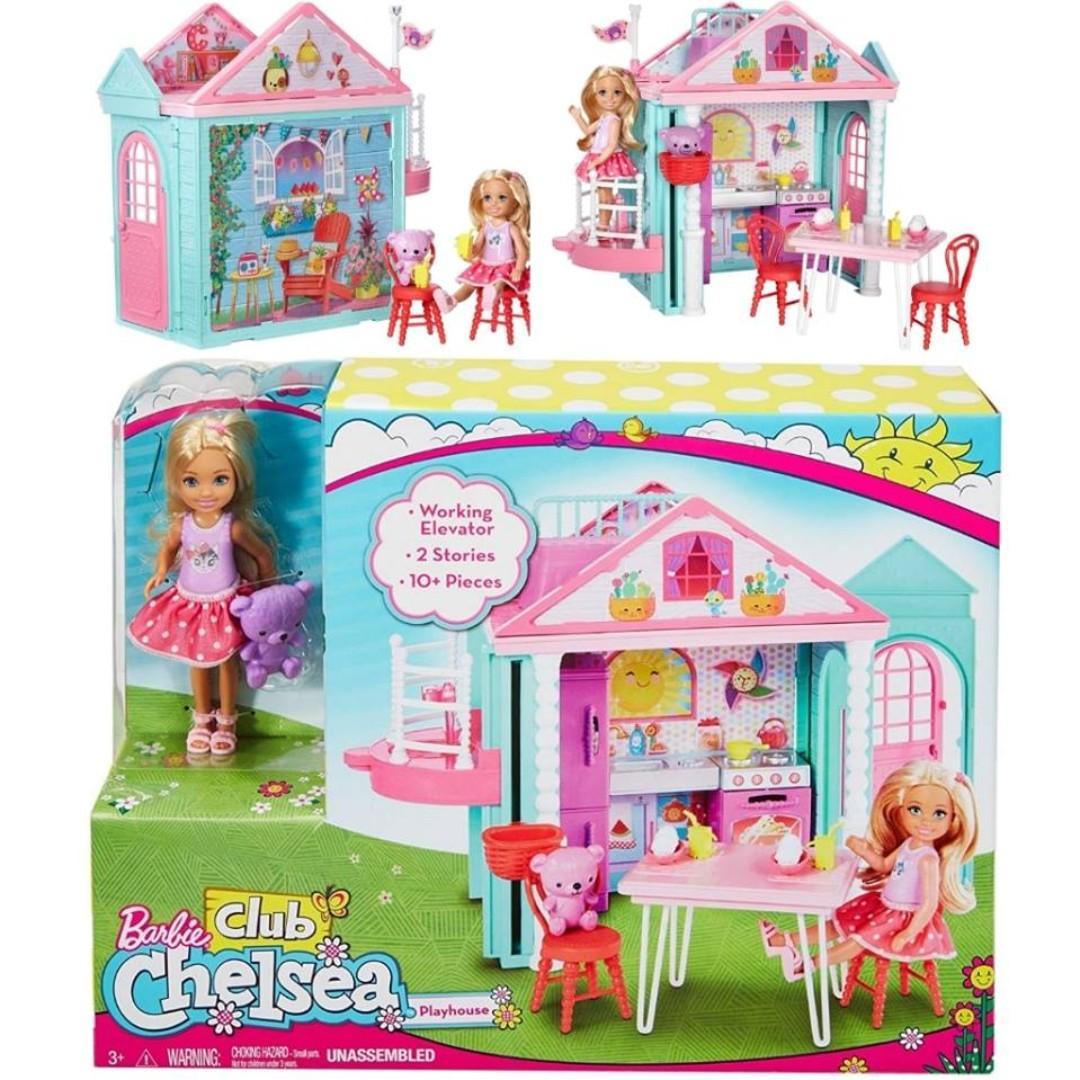 Bnib Barbie Club Chelsea Clubhouse Playset Babies Kids
