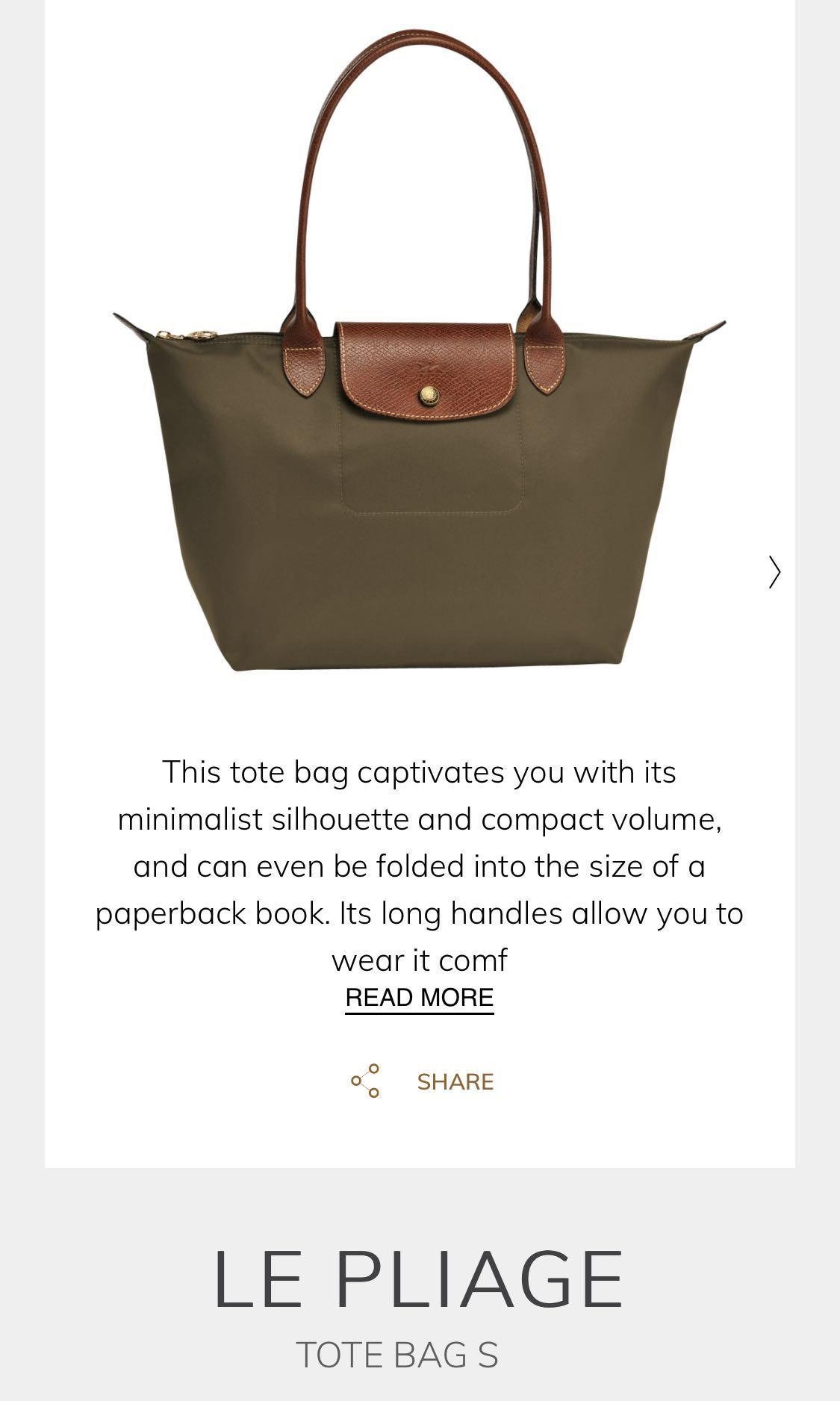 a1910489f7 Brand New Longchamp Le Pliage S, Luxury, Bags & Wallets, Handbags on ...