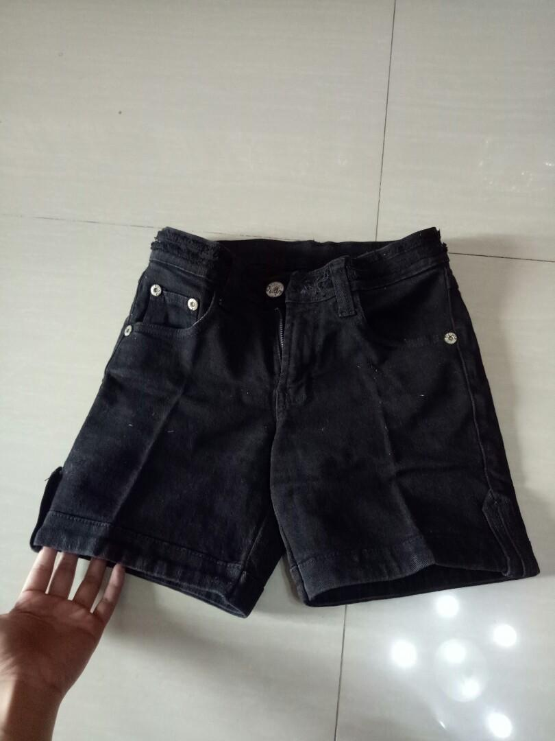 jeans pendek d&g size 27