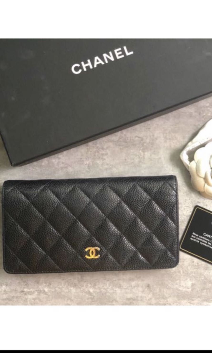 5e88931adb99 Chanel yen long flap wallet, Luxury, Bags & Wallets, Wallets on ...